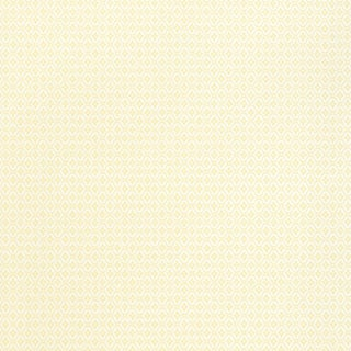 Sample - Schumacher Coconut Grove Wallpaper in Aqua & Tan For Sale