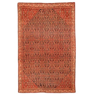 Antique Late 19th Century Persian Zili Sultan Rug For Sale