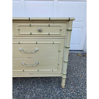 1970s Faux Bamboo Allegro by Thomasville Dresser Preview