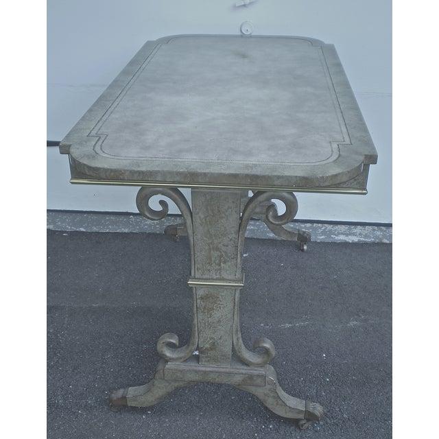 Refinished 1940s Vintage Desk Table - Image 4 of 4
