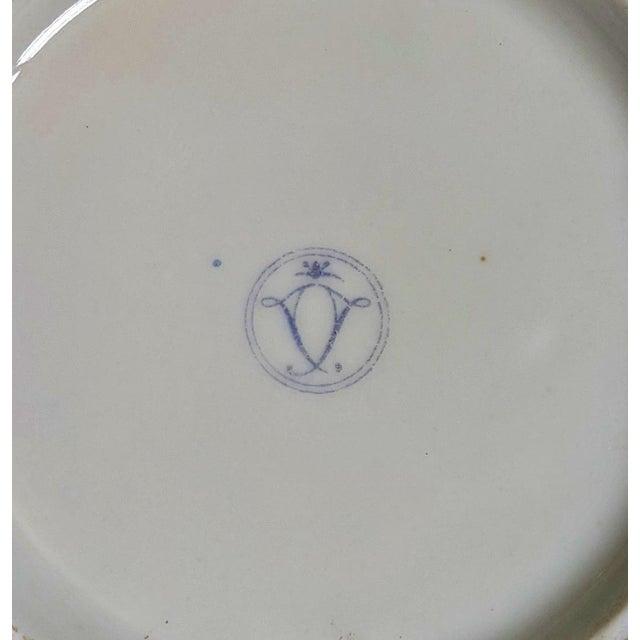 Blue Antique French Gilt Bronze & Porcelain Sevres Jewelry Box / Potpourri For Sale - Image 8 of 13
