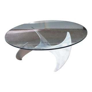Knut Hesterberg Propeller Cocktail Table For Sale