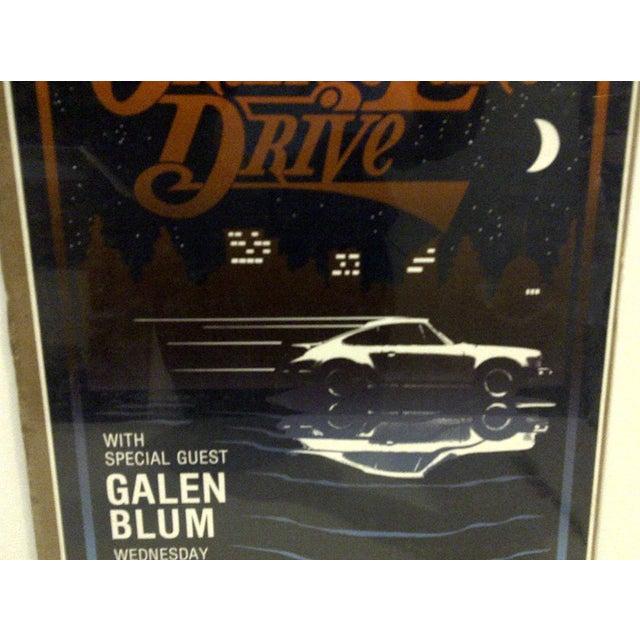 """1980 Vintage """"Orange Lake Drive"""" Concert Poster For Sale - Image 5 of 5"""