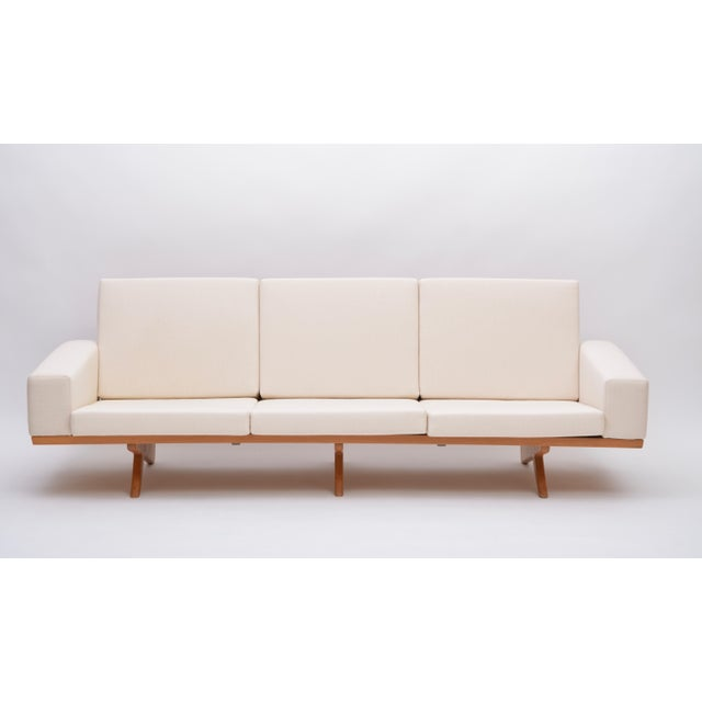 Mid 20th Century Oak Sofa by Georg Thams for as Vejen Polstermøbelfabrik, 1964 For Sale - Image 5 of 12