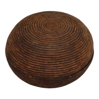 Old Tutsi Barundi Basket For Sale