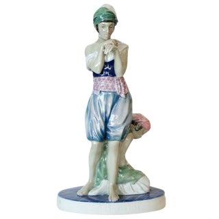 Scheherazade Porcelain Statue by Volkstedt - 50th Anniversary Sale For Sale