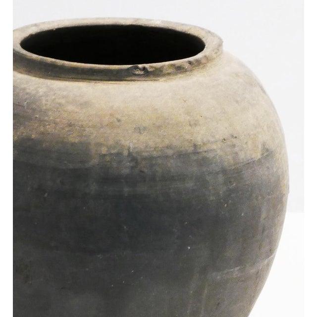 Rustic Black Pot For Sale - Image 4 of 5