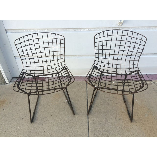 Knoll Bertoia Children's Chairs - A Pair - Image 2 of 5