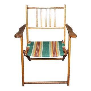 Wooden Folding Beach Chair