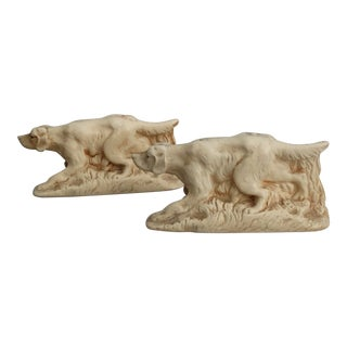 McCoy Sporting Dog Bookends McCoy, a Pair For Sale