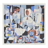 Image of The Fish Vendors by Vicente Manansala For Sale