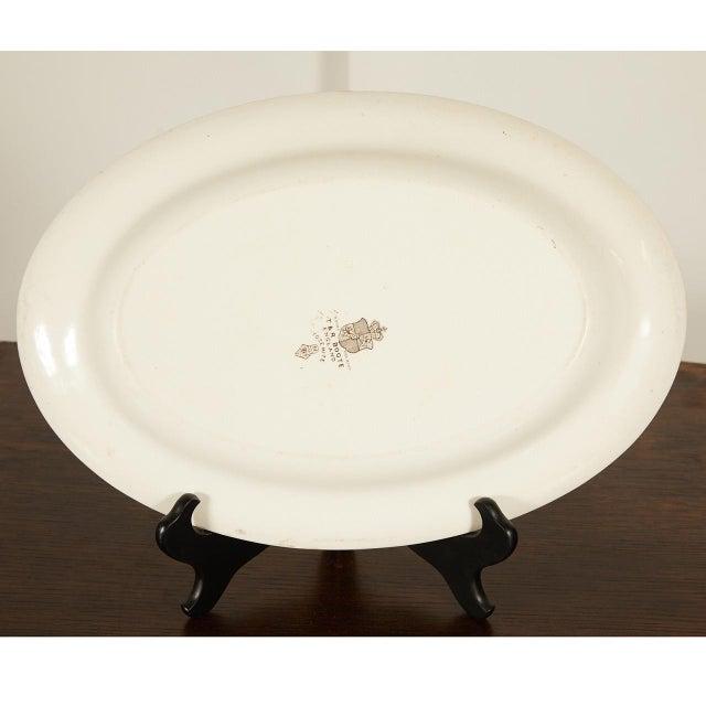 Mid 19th Century Ironstone Platter of Yosemite For Sale - Image 5 of 7