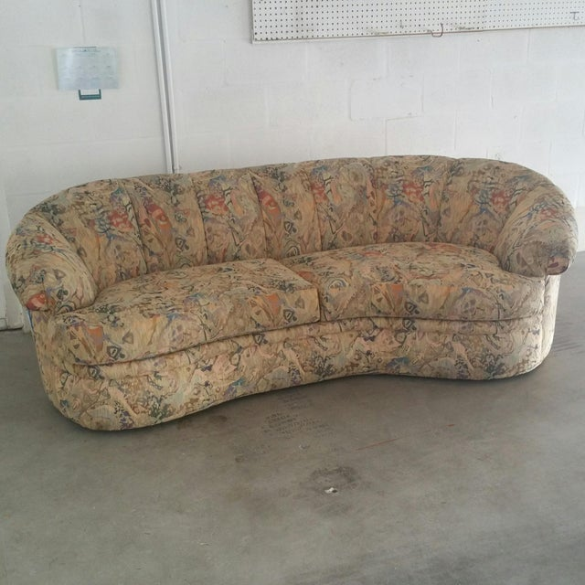 1980s Thayer Coggin Sofa- Custom Vintage For Sale - Image 5 of 10