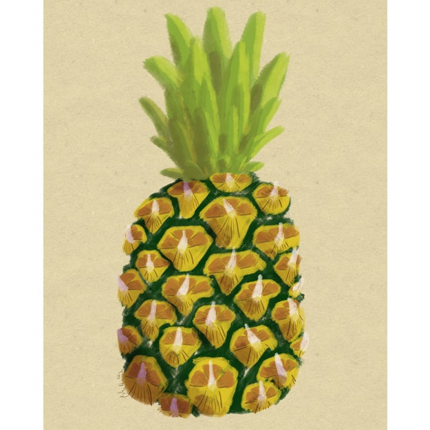 Modern Pineapple Wall Art, 2017 For Sale - Image 9 of 9