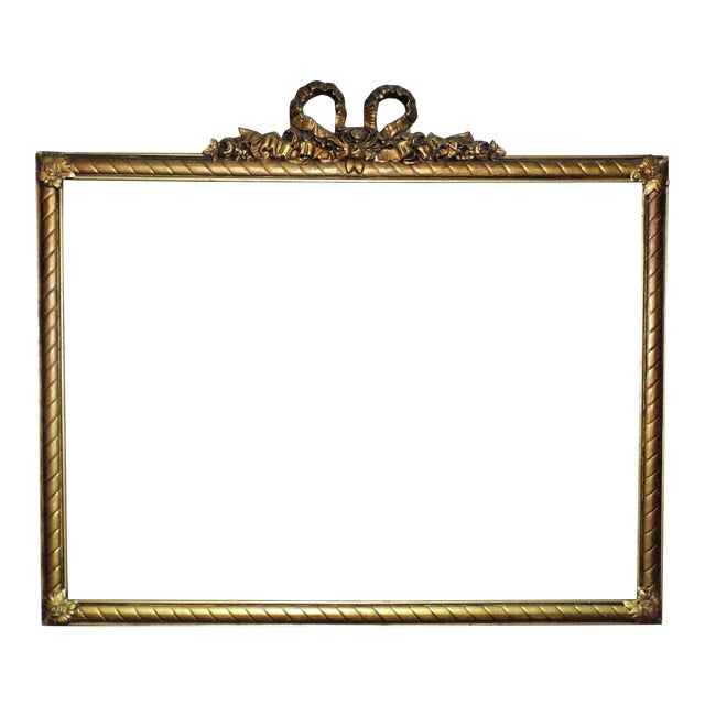 19th Century Victorian Picture Frame For Sale