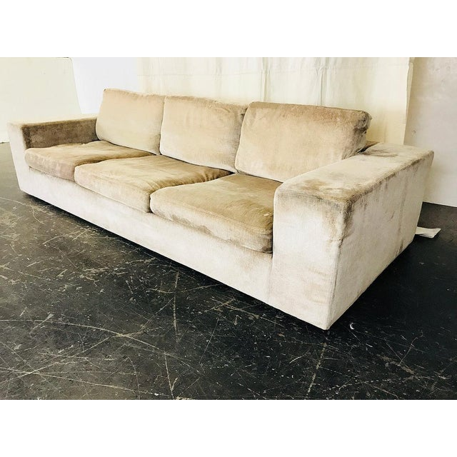 Textile Modern Sofa by Cisco For Sale - Image 7 of 9