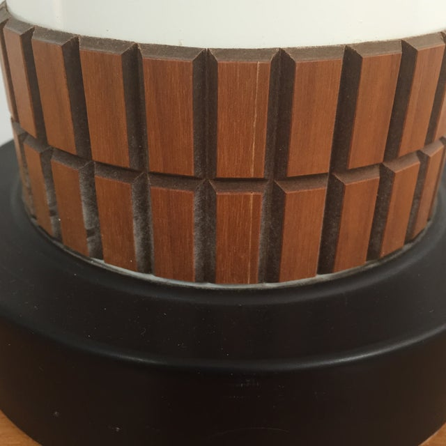 Mid-Century Cylinder Table Lamp - Image 7 of 10