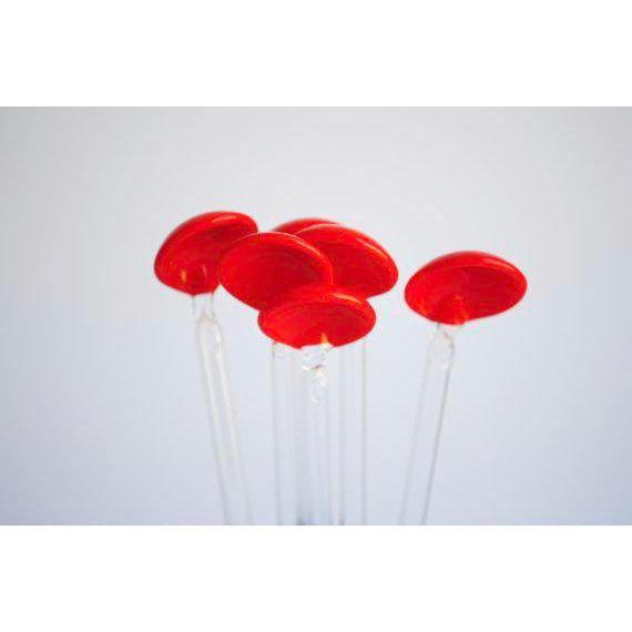 Mid-Century Cocktail Stirrers / Straws, Set of 6 For Sale - Image 4 of 5