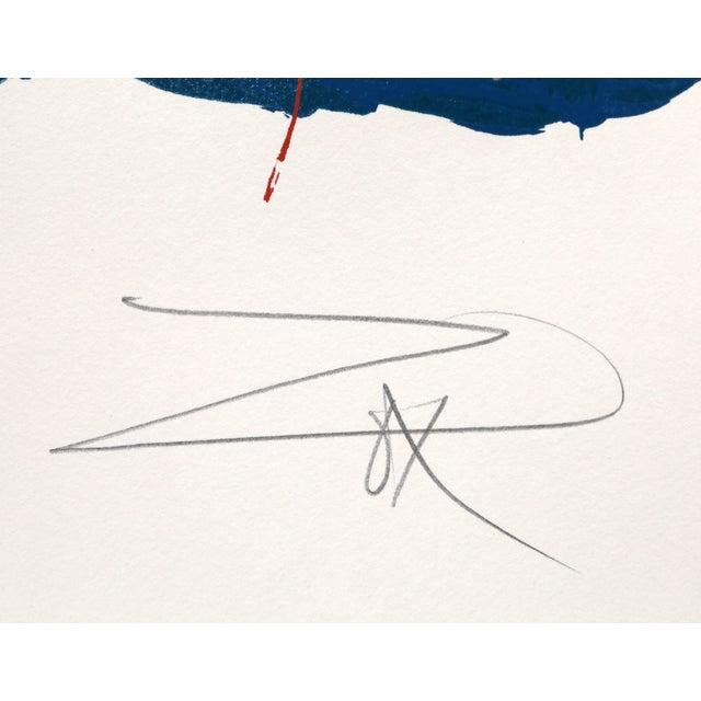 Larry Zox, Untitled 4, Serigraph - Image 2 of 2