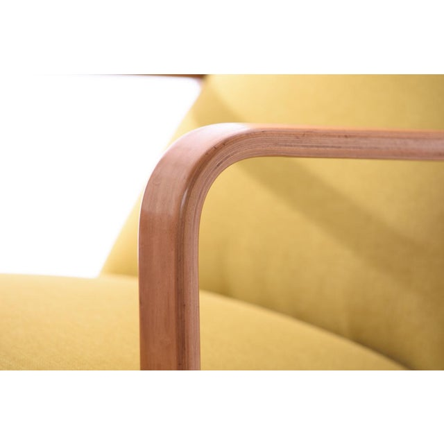 Thonet Mid-Century Modern Bentwood Style Lounge Chair - Image 4 of 5