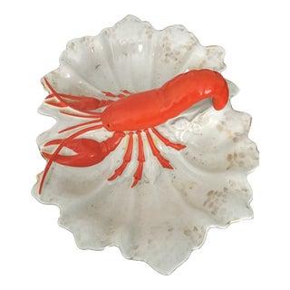 Antique Lobster Bowl For Sale