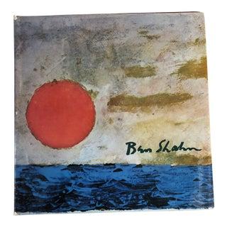 """""""Ben Shahn"""" Oversized Art Book For Sale"""