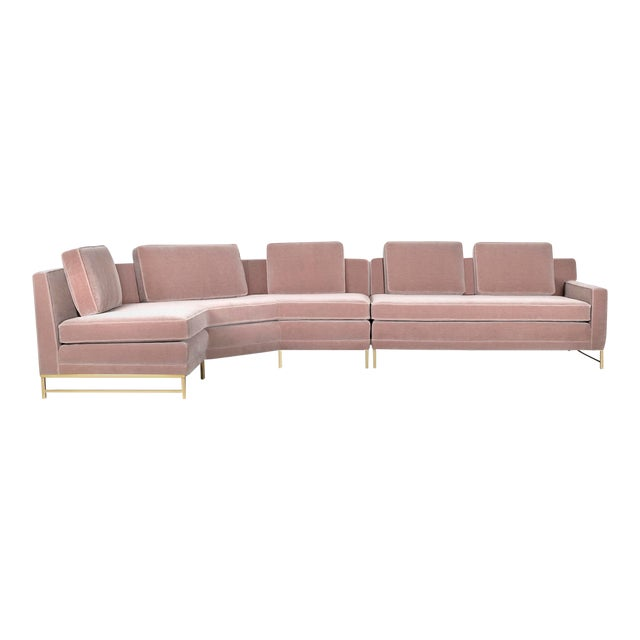 Paul McCobb for Directional Sectional Sofa For Sale