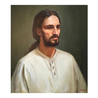 Portrait of Man With Beard For Sale
