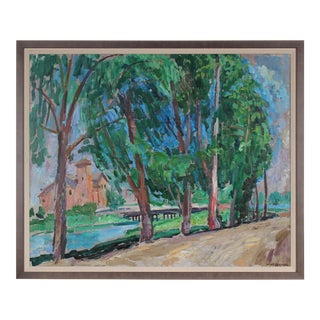 Carmel, California Landscape, Oil Painting, 20th Century For Sale