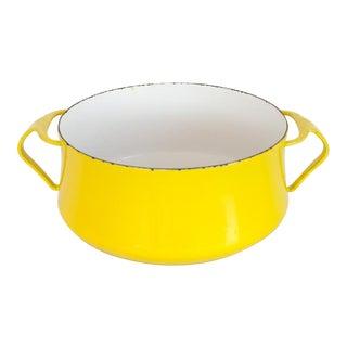 Dansk Kobenstyle Saucepan in Bright Yellow For Sale