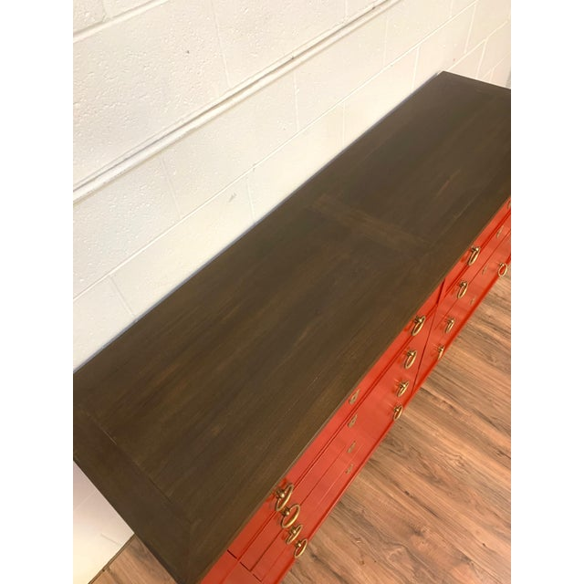 Baker Furniture Company 1960s Baker Furniture Chest of Drawers For Sale - Image 4 of 9