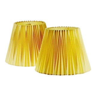 Vintage Rembrandt Pleated Lamp Shades