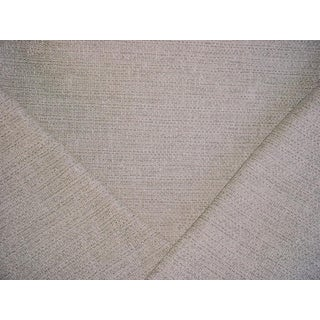 Oborne & Little Vence Ivory Stone Textured Tweed Upholstery Fabric - 3 7/8 Yards For Sale