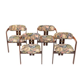 Set of Four Augusto Savini 'Pamplona' Chairs For Sale