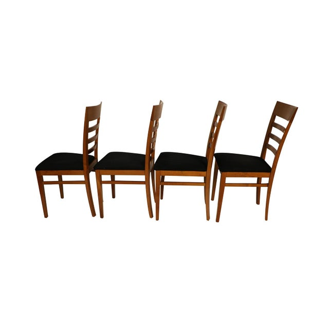 Four A. Sibau Italian Vintage Dining Room Chairs For Sale - Image 4 of 13