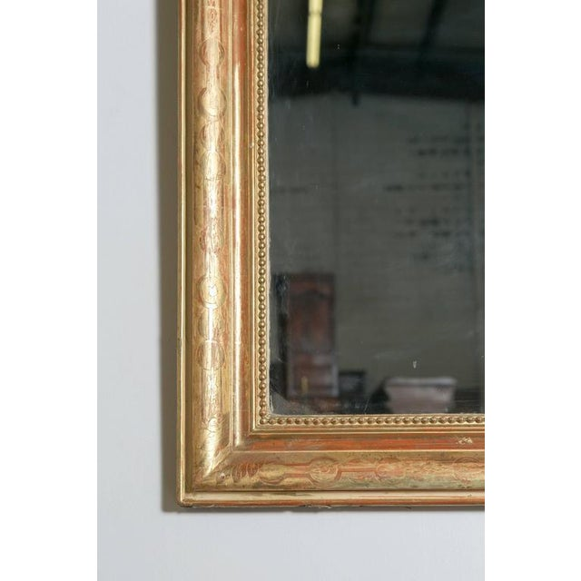 Grand Antique French Louis Philippe Period Mirror For Sale - Image 10 of 10