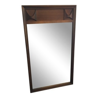 1960s Kent Coffey Mid-Century Modern Mirror