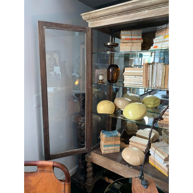 Wood Rustic European Style Cabinet For Sale - Image 7 of 7