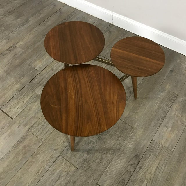 West Elm Mid-Century Modern Tri Surface Coffee Table - Image 3 of 7
