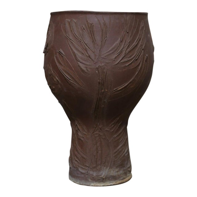 "Mid Century Modern David Cressy ""Expressive"" Design Ceramic Planter For Sale - Image 9 of 9"
