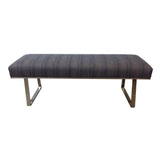Mid Century Inspired Bench For Sale