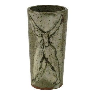 Bernard Chaet (American, 1924-2012) Studio Pottery Vase For Sale