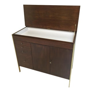 1950s Mid-Century Modern Paul McCobb Bar Cabinet For Sale