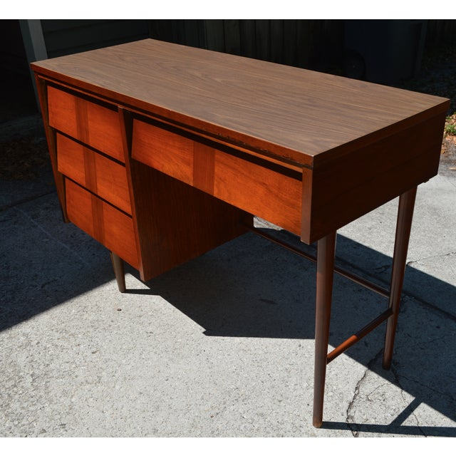 Mid-Century Modern Ward Mid Century Modern Writing Desk by Ward Furniture For Sale - Image 3 of 5