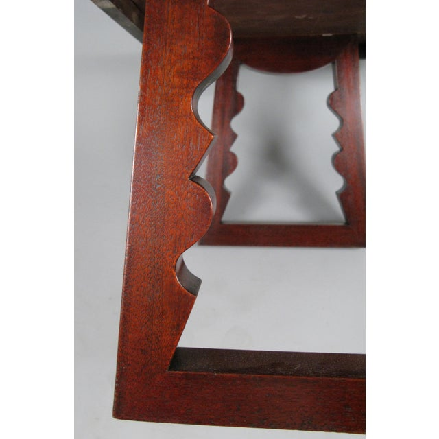 1940s 1948 Rosewood & Mahogany Cocktail Table by Andrew Szoeke For Sale - Image 5 of 7