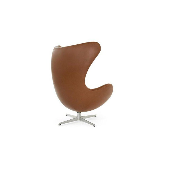 Arne Jacobsen for Fritz Hansen Egg Chair and Footstool, Denmark, 1966 For Sale - Image 10 of 13