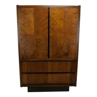 1970s Mid-Century Lane Furniture Walnut Dresser