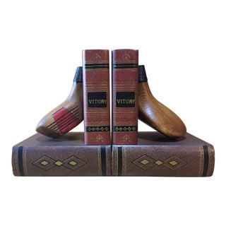 Vintage Golf Club Bookends - a Pair