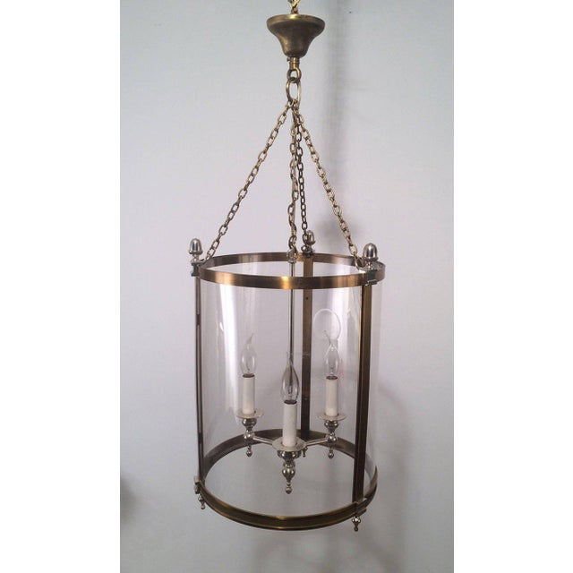 1970s French Neoclassical Style Hanging Lantern - Image 2 of 10