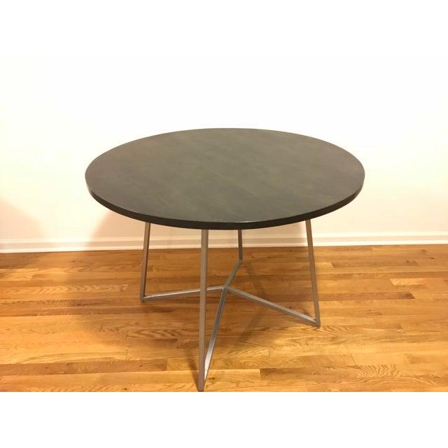 Cb Peak Dining Table Chairish - Cb2 kitchen table